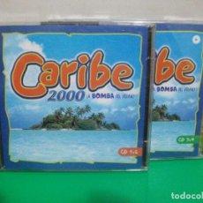CDs de Música: CARIBE 2000 LA BOMBA DEL VERANO 2 DOBLES CD CD1 Y CD2 / CD3 Y CD4 NUEVO¡¡. Lote 151872254