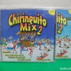 CDs de Música: CHIRINGUITO MIX - TODOS LOS TEMAS INTERPRETADOS POR TROUP BAND - 2 X CD , 2003 NUEVO¡¡. Lote 151873314