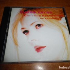 CDs de Música: CHRISTINA ROSENVINGE FLORES RARAS EN CONCIERTO CD ALBUM 1998 14 TEMAS ALEX & CHRISTINA. Lote 151873354