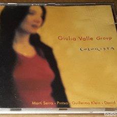 CDs de Música: CD- GIULIA VALLE GROUP - COLORISTA - MARTÍ SERRA. PINTXO.GUILLERMO KLEIN .DAVID XIRGU . GIULIA VALLE. Lote 151880980