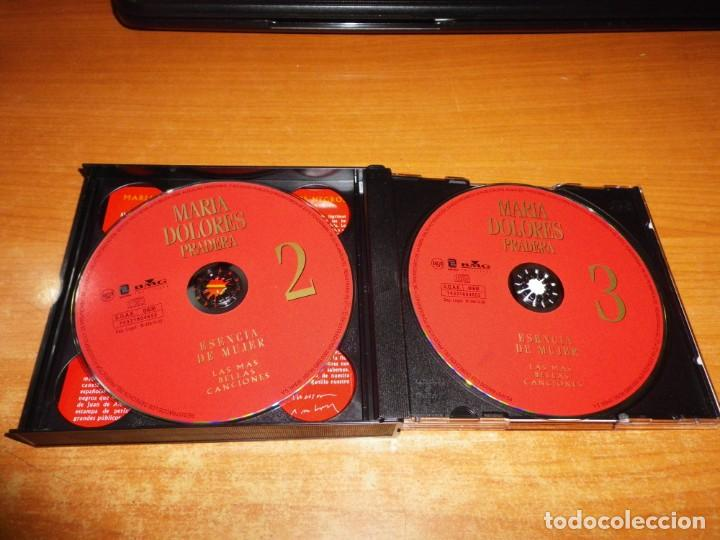 CDs de Música: MARIA DOLORES PRADERA Esencia de mujer TRIPLE CD 2000 CARLOS CANO EL CONSORCIO JOAQUIN SABINA 3 CD - Foto 3 - 151881218