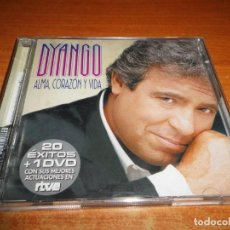 CDs de Música: DYANGO ALMA CORAZON Y VIDA CD + DVD 2005 SHEENA EASTON CELIA CRUZ CD 20 TEMAS DVD 17 TEMAS. Lote 151882558