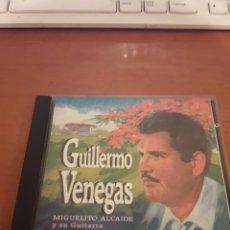 CDs de Música: GUILLERMO VENEGAS. SUS CANCIONES SU VOZ SUS PENSAMIENTOS. EDICIÓN DE 1995 RARA. Lote 151884702
