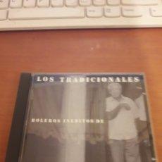CDs de Música: LOS TRADICIONALES. BOLEROS INÉDITOS DE CARLOS PUEBLA.. Lote 151886216