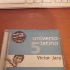 CDs de Música: VÍCTOR JARA. UNIVERSO LATINO CINCO. EDICIÓN DE 2001. Lote 151886626
