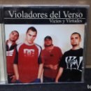 CDs de Música: DOBLE V - VICIOS Y VIRTUDES 2001 BUEN ESTADO. Lote 151888762