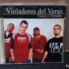 CDs de Música: VIOLADORES DEL VERSO DOBLE V - VICIOS Y VIRTUDES 2001 BUEN ESTADO. Lote 151888762