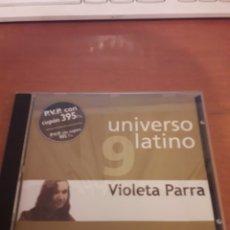 CDs de Música: VIOLETA PARRA. UNIVERSO LATINO 9. EDICIÓN DEL 2001. Lote 151888916