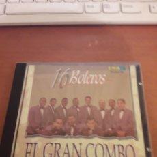 CDs de Música: EL GRAN COMBO DE PUERTO RICO. 16 BOLEROS. EDICIÓN DE 1996 RARO. Lote 151890694