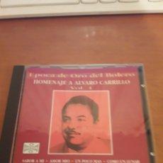 CDs de Música: HOMENAJE A ÁLVARO CARRILLO. VOLUMEN 1. VARIOS ARTISTAS. EDICIÓN DE 1996 RARA. Lote 151892870