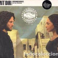CDs de Música: FREUNDESKREIS MIT JOY DENALANE - MIT DIR (CD, SINGLE) LABEL:FOUR MUSIC, COLUMBIA CAT#: FOR 667616 2. Lote 151923182