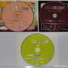 CDs de Música: ESCLARECIDOS: DISCOGRAFÍA BÁSICA - ESCLARECIDOS 2, POR AMOR AL COMERCIO, DE ESPALDAS A TÍ - 3 CD SET. Lote 151966418