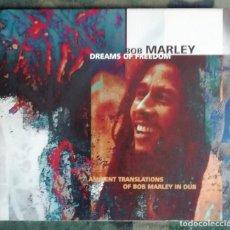 CDs de Música: BOB MARLEY–DREAMS OF FREEDOM AMBIENT TRANSLATIONS OF BOB MARLEY IN DUB CD DUB, AMBIENT BILL LASWELL . Lote 151969906