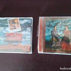 CDs de Música: LOTE 2 CD - BANDAS SONORAS. MUJER. - THELMA Y LOUISE + FRIDA. NUEVOS. PRECINTADOS!. Lote 151979626