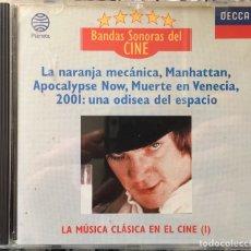 CDs de Música: BANDAS SONORAS DEL CINE - LA MÚSICA CLÁSICA EN EL CINE (I) (PLANETA). Lote 151991208