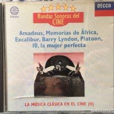CDs de Música: BANDAS SONORAS DEL CINE - LA MÚSICA CLÁSICA EN EL CINE (II) (PLANETA). Lote 151991433