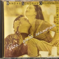 CDs de Música: BANDAS SONORAS ORQUESTALES DEL MEJOR CINE - PARA GENTE ENAMORADA. Lote 151992140