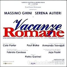 CDs de Música: VACANZE ROMANCE MÚSICA COMPUESTA POR ARMANDO TROVAIOLI MUSICAL TEATRAL. Lote 152002394
