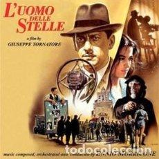 CDs de Música: EL HOMBRE DE LAS ESTRELLAS - L'UOMO DELLE STELLE MÚSICA COMPUESTA Y DIRIGIDA POR ENNIO MORRICONE. Lote 152009418