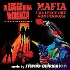 CDs de Música: LA LEGGE DELLA VIOLENZA / MAFIA UNA LEGGE CHE NON PERDONA MÚSICA: STELVIO CIPRIANI. Lote 152010322