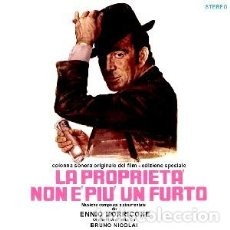 CDs de Música: LA PROPRIETA' NON E' PIU' UN FURTO MÚSICA COMPUESTA POR ENNIO MORRICONE. Lote 152010434