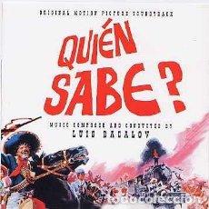CDs de Música: ¿QUIÉN SABE? MÚSICA COMPUESTA Y DIRIGIDA POR LUIS BACALOV . Lote 152012802