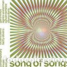CDs de Música: DAVID LANG, LUCIANO BERIO, BETTY OLIVERO - SONG OF SONGS (CD) TRIO MEDIAEVAL. Lote 152013174