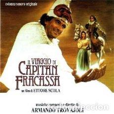 CDs de Música: EL VIAJE DEL CAPITÁN FRACASSA - IL VIAGGIO DI CAPITAN FRACASSA MÚSICA COMPUESTA Y DIRIGIDA POR ARMA. Lote 152035386