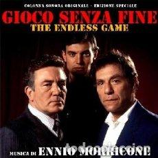 CDs de Música: EL JUEGO INTERMINABLE - THE ENDLESS GAME MÚSICA COMPUESTA POR ENNIO MORRICONE. Lote 152037162