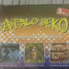 CDs de Música: 3 CD BOX - A PALO SEKO - DISCOGRAFÍA BÁSICA. Lote 152042608