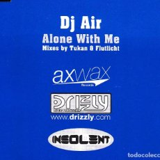 CDs de Música: DJ AIR - ALONE WITH ME MIXES BY TUKAN AND FLUTLICHT CD SINGLE 6 TRACKS 2002. Lote 152154786