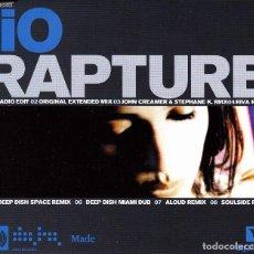 CDs de Música: IIO - RAPTURE CD SINGLE 8 TRACKS 2001. Lote 152155158
