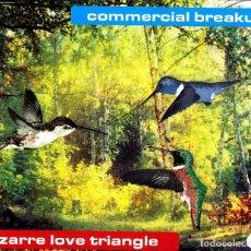 CDs de Música: COMMERCIAL BREAKUP - BIZARRE LOVE TRIANGLE CD SINGLE 5 TRACKS 2001. Lote 152155230