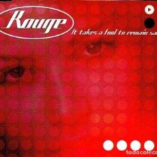 CDs de Música: ROUGE - IT TAKES A FOOL TO REMAIN SANE CD SINGLE 3 TRACKS 2001. Lote 152155318
