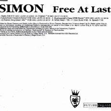 CDs de Música: SIMON - FREE AT LAST CD SINGLE 8 TRACKS 2001. Lote 152155542