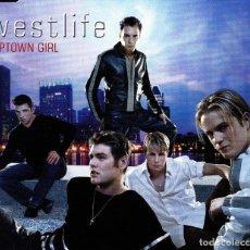 CDs de Música: WESTLIFE - UPTOWN GIRL CD SINGLE 4 TRACK 2001. Lote 152155814