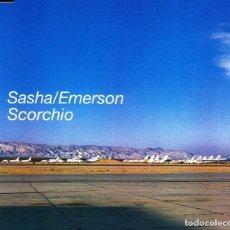 CDs de Música: SASHA / EMERSON - SCORCHIO CD SINGLE 3 TRACKS 2000. Lote 152155890