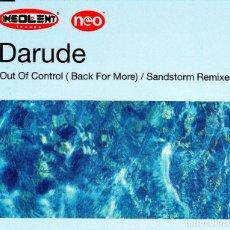 CDs de Música: DARUDE - OUT OF CONTROL BACK POR MORE / SANDSTORM REMIXES CD SINGLE 5 TRACKS 2001. Lote 152156358
