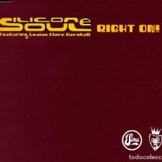 CDs de Música: SILICONE SOUL - RIGHT ON CD SINGLE 4 TRACKS 2001. Lote 152156402