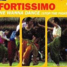 CDs de Música: FORTISSIMO - WE WANNA DANCE STOP THE FIGHT CD SINGLE 4 TRACKS 2001. Lote 152156610