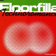 CDs de Música: FLOORFILLA - TECHNOROMANCE CD SINGLE 3 TRACKS 2001. Lote 152156754