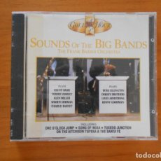CDs de Música: CD SOUNDS OF THE BIG BANDS - THE FRANK BARBER ORCHESTRA (2S). Lote 152160294