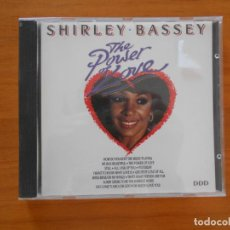 CDs de Música: CD SHIRLEY BASSEY - THE POWER OF LOVE (2S). Lote 152160646