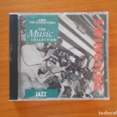 CDs de Música: CD SWING TIME (OF THE 30'S) - JAZZ - THE MUSIC COLLECTION (3L). Lote 152161082