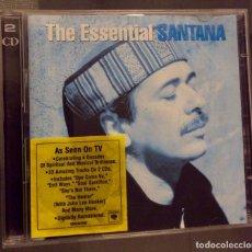 CDs de Música: THE ESSENTIAL SANTANA. DOBLE CD. Lote 152181418