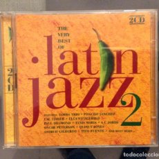 CDs de Música: THE VERY BEST OF LATIN JAZZ 2. DOBLE CD. Lote 152182630