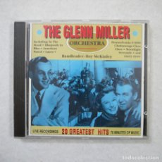 CDs de Música: THE GLENN MILLER ORCHESTRA - 20 GREATEST HITS - CD 1990 . Lote 152193310