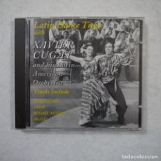 CDs de Música: LATIN DANCE TIME WITH XAVIER CUGAT AND HIS ORCHESTRA - CD 1995 . Lote 152194322