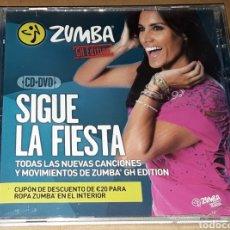 CDs de Música: CD + DVD - ZUMBA - GRAN HERMANO EDITION - ZUMBA - SIGUE LA FIESTA. Lote 152203761