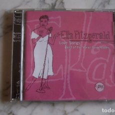 CDs de Música: CD ELLA FITZGERALD. LOVE SONGS. BEST OF THE VERVE SONG BOOKS.. Lote 152214258